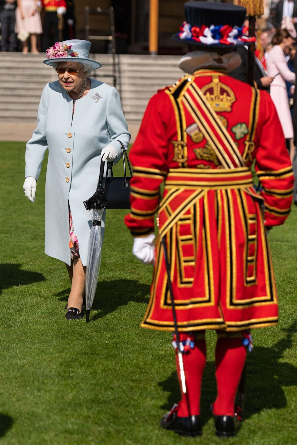 Queen Elizabeth II attending the Royal Garden Party. (Photo: PA Wire/PA Images)