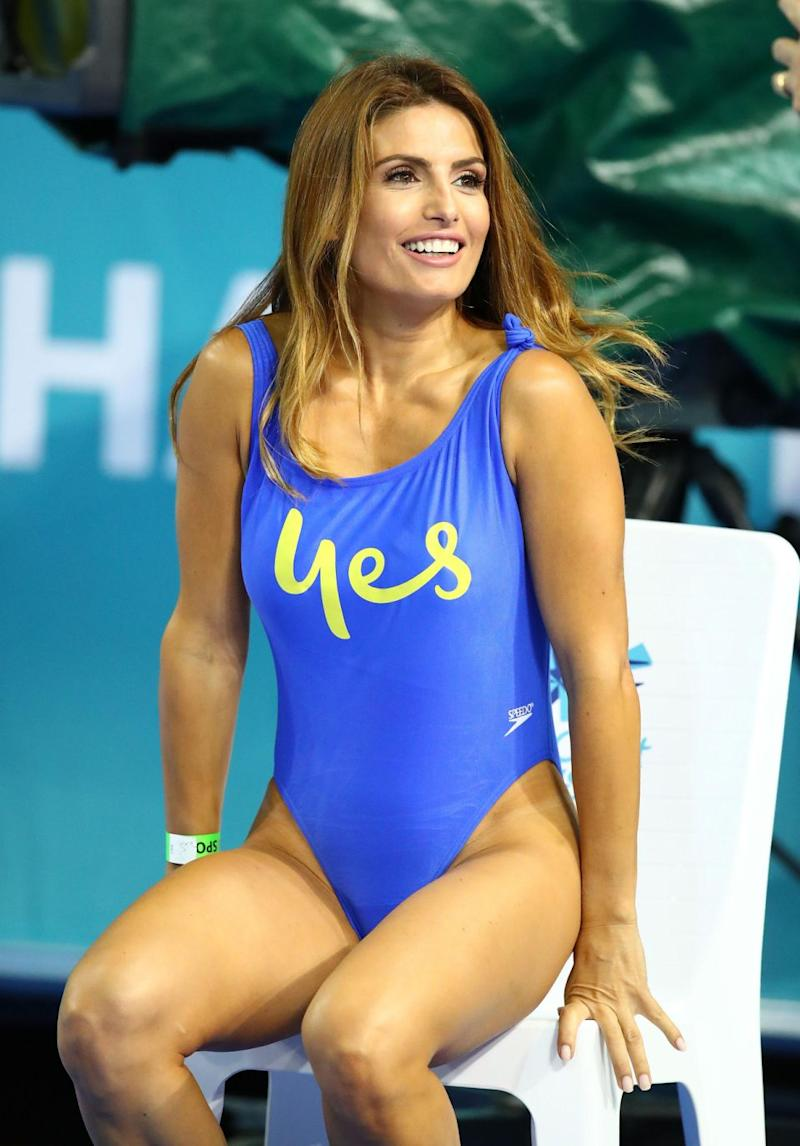 The actress showed off her incredible figure during the Commonwealth Games festivities over the weekend. Source: Getty