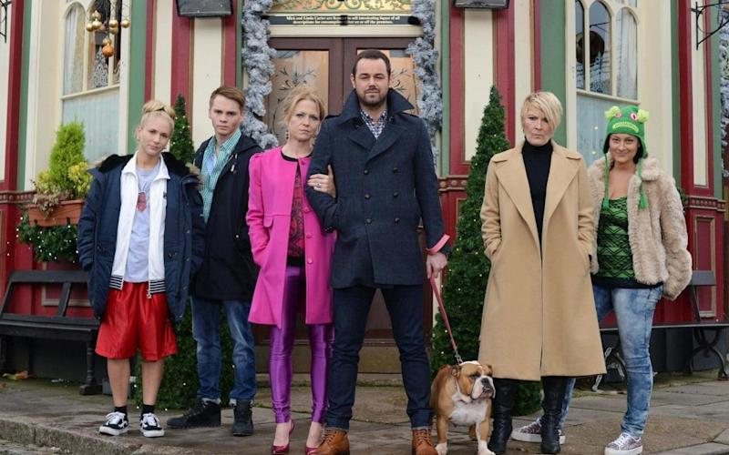 The audience for EastEnders has registered a sharp decline in the past decade - PA