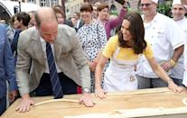 <p>Will and Kate try their best to make pretzels during their tour of Germany.<br></p>