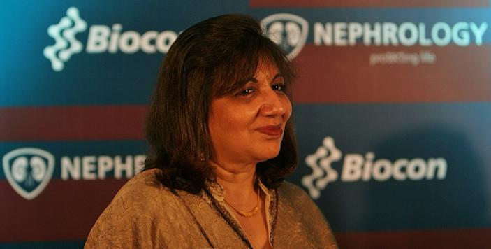 Kiran Mazumdar Shaw; Biocon Executive Chairperson and Founder of Mazumdar Shaw Medical Foundation