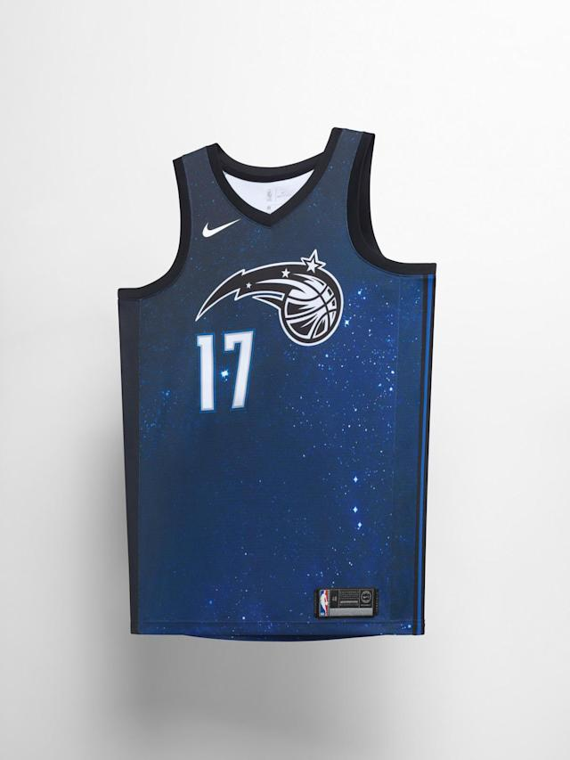 Orlando Magic City uniform. (Nike)