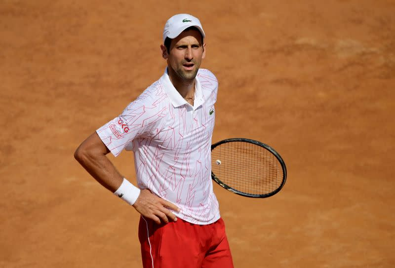 1,000 fans at Italian Open better than none, says Djokovic
