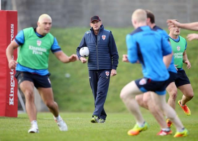 Wayne Bennett guided England to the World Cup final in 2017 (Danny Lawson/PA)