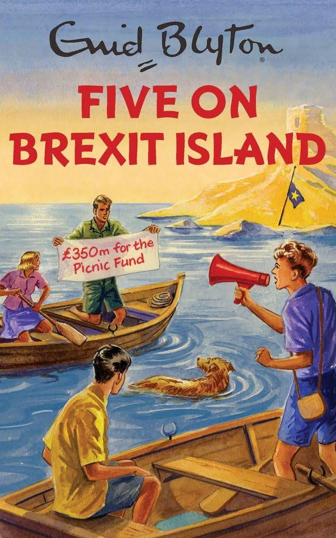 The spoof Enid Blyton book for adults also became a bestseller