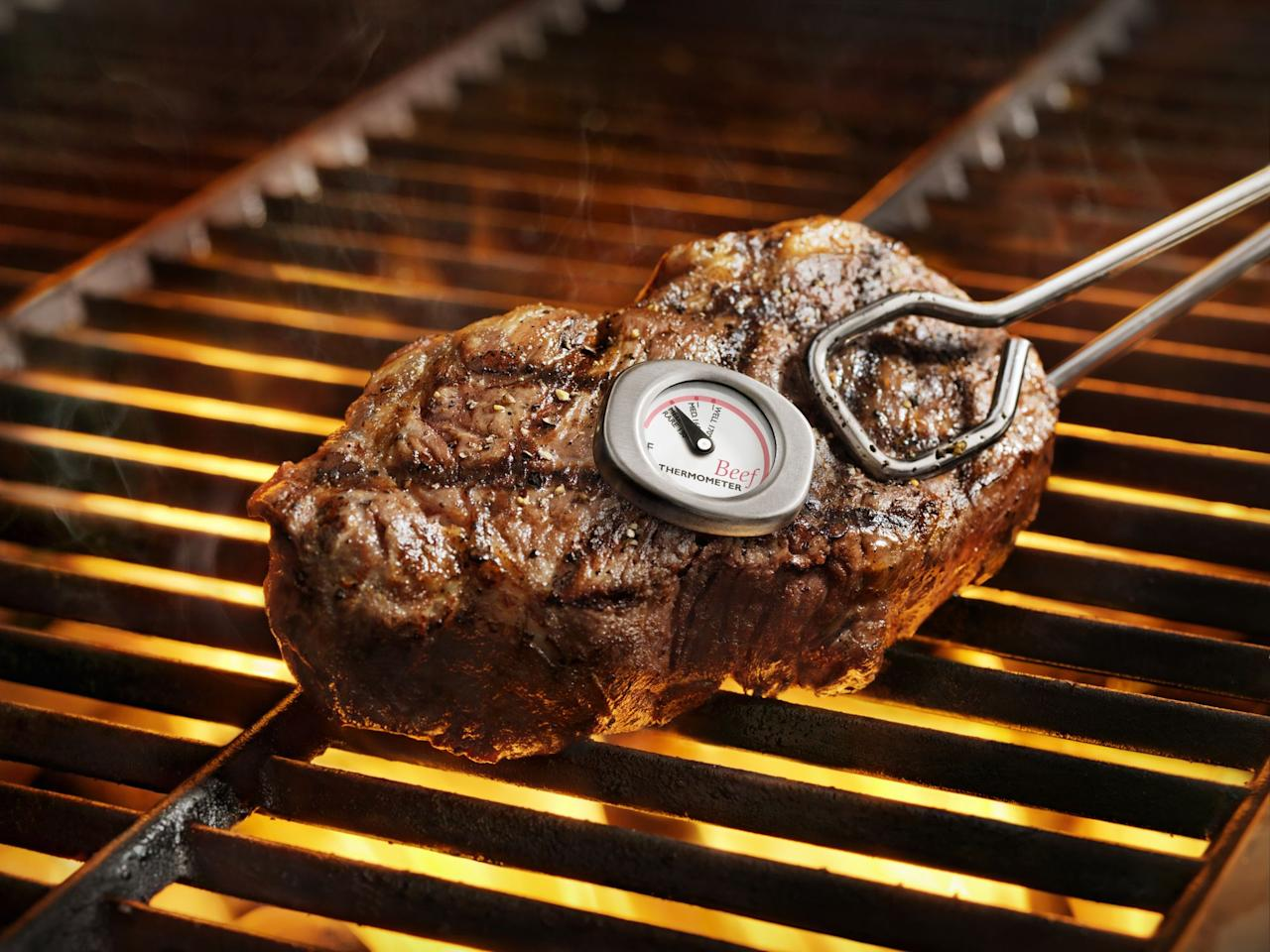 """<p>Believe it or not, people are preparing to take their <a href=""""https://www.housebeautiful.com/entertaining/holidays-celebrations/g1828/fourth-of-july-decorations/"""" target=""""_blank"""">July 4</a> grilling skills to the next level, no matter how many beers they're sipping on the holiday. Currently, <a href=""""https://www.housebeautiful.com/shopping/best-stores/a28198292/amazon-prime-day-2019/"""" target=""""_blank"""">Amazon's</a> best sellers in <a href=""""https://www.housebeautiful.com/shopping/g27821924/best-grills/"""" target=""""_blank"""">grilling</a> and bbq utensils are...meat thermometers. Though this might seem like an odd item, they're a smart investment; after all, no one wants an overcooked burger at a cookout.  We've all been offered the driest burger on earth by that one uncle who thinks he's the king of grilling.</p><p>Hopefully that doesn't happen this year—because everyone seems to be racking up on meat thermometers! Here are the top five selling meat thermometers that'll make a great July 4 gift for the the people in your life who you love...but need a little help when it comes to using a grill:</p>"""