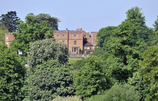 A view of the Grove Hotel, in Watford where The Bilderberg Group summit meeting is being held, attended by royalty, politicians, billionaire investors, banking and corporate CEOs, policy-makers and media moguls from all over the world.