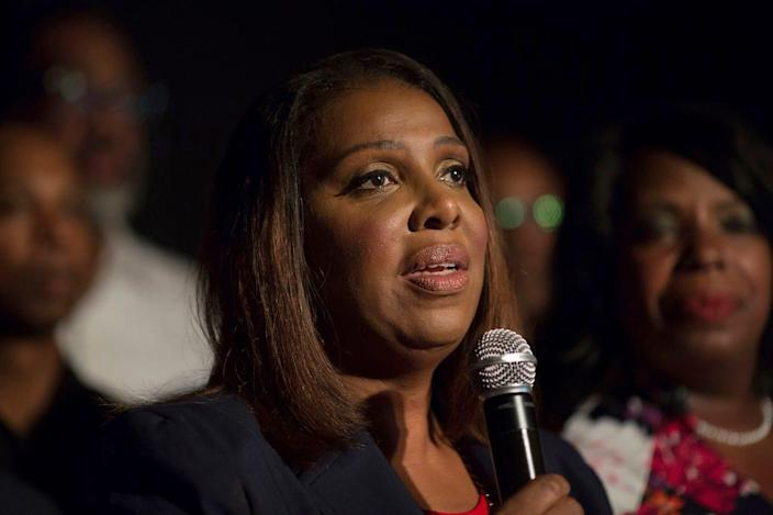 """""""The NRA's influence has been so powerful that the organization went unchecked for decades while top executives funneled millions into their own pockets,"""" New York Attorney General Letitia James alleges."""