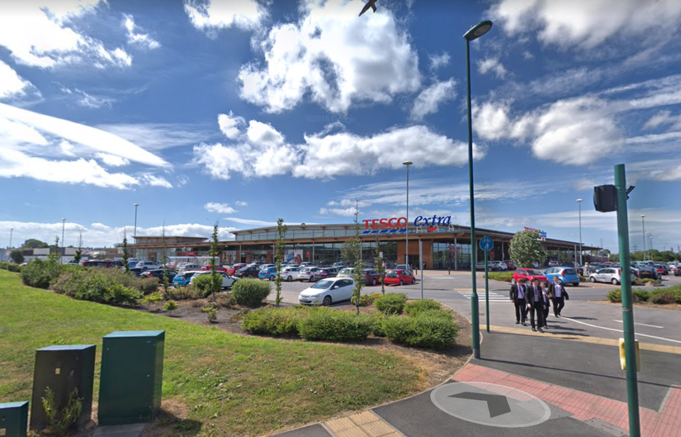 A brawl reportedly broke out in the egg aisle at Tesco Extra ,
