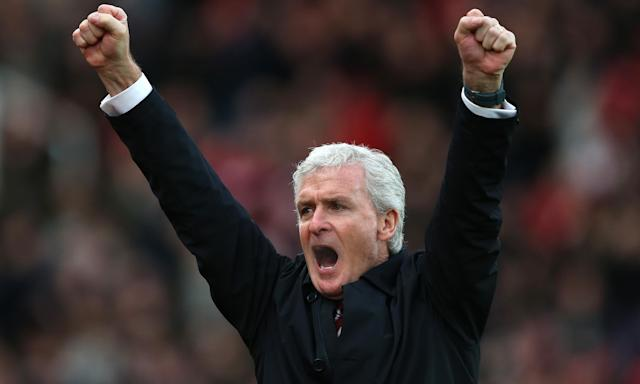 Mark Hughes's experience and availability make him attractive to Southampton.