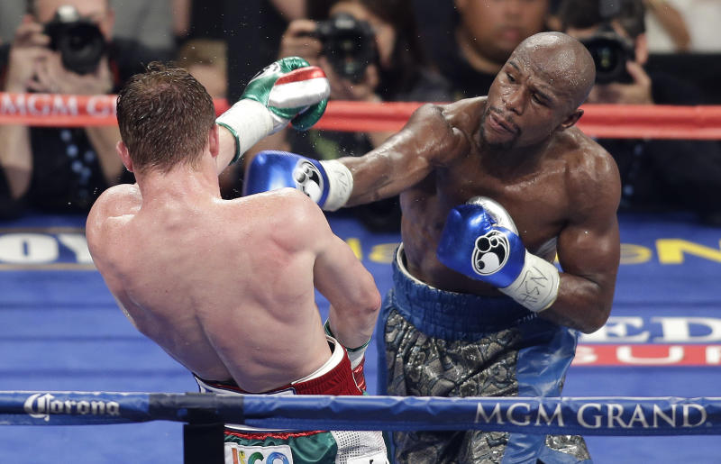 Mayweather-Alvarez bout is richest fight ever