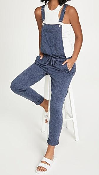 """<br><br><strong>Z Supply</strong> French Terry Overalls, $, available at <a href=""""https://go.skimresources.com/?id=30283X879131&url=https%3A%2F%2Fwww.shopbop.com%2Foveralls-z-supply%2Fvp%2Fv%3D1%2F1511666729.htm"""" rel=""""nofollow noopener"""" target=""""_blank"""" data-ylk=""""slk:Shopbop"""" class=""""link rapid-noclick-resp"""">Shopbop</a>"""