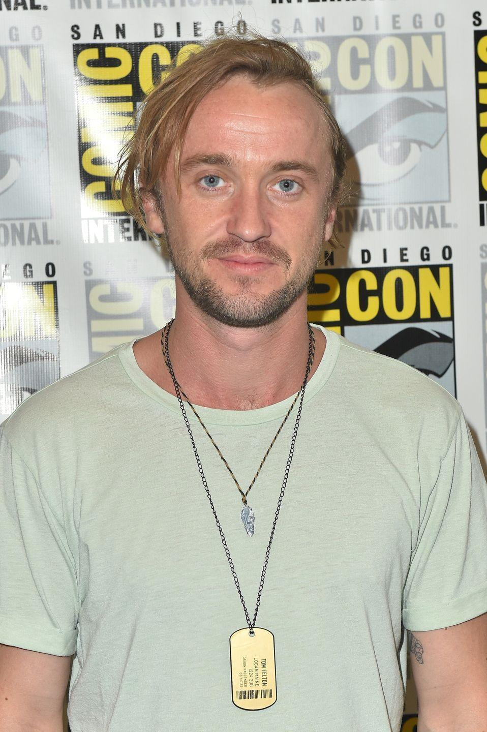"""<p><strong>The role: </strong><a href=""""http://www.mtv.com/news/1667231/harry-potter-deathly-hallows-tom-felton-casting/"""" rel=""""nofollow noopener"""" target=""""_blank"""" data-ylk=""""slk:Harry Potter and Ron Weasley"""" class=""""link rapid-noclick-resp"""">Harry Potter and Ron Weasley</a> in <em>Harry Potter</em></p><p><strong>Who *actually* played it:</strong> Daniel Radcliffe and Rupert Grint</p><p><strong>The role they played instead: </strong>Draco Malfoy</p><p>Felton auditioned for the title role of Harry and Ron before eventually getting cast as Draco. He has said that he's """"grateful"""" he was cast as Draco because he doesn't think anyone else could have done the job Radcliffe and Grint did.</p>"""