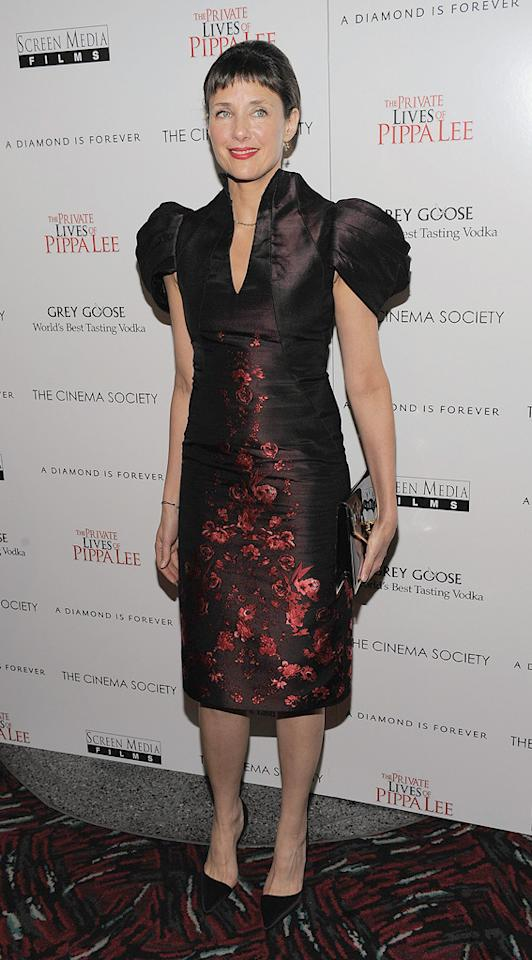 """<a href=""""http://movies.yahoo.com/movie/contributor/1800178124"""">Rebecca Miller</a> at the New York City Cinema Society screening of <a href=""""http://movies.yahoo.com/movie/1810025242/info"""">The Private Lives of Pippa Lee</a> - 11/15/2009"""