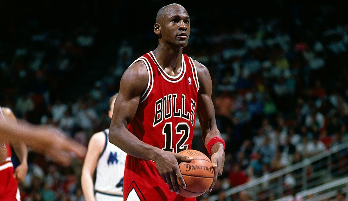 Solving the mystery behind the night Michael Jordan wore a nameless No. 12 jersey 30 years ago