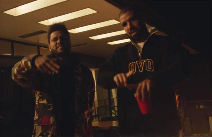 "Watch The Weeknd and Drake Perform ""Crew Love"" Together for First Time in 3 Years"
