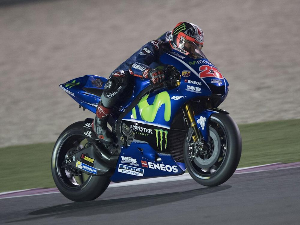 Vinales could prove the biggest rival to reigning champion Marquez (Getty)
