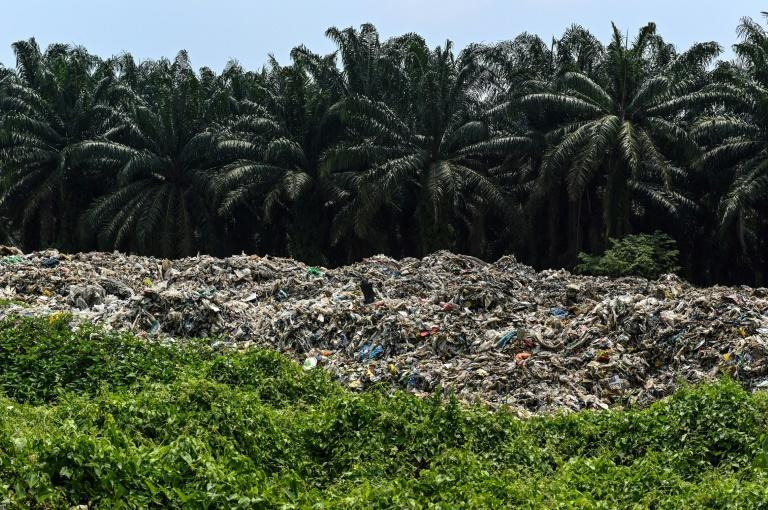 The Malaysian district of Jenjarom quickly became flooded with rubbish after a move by China to restrict its waste recycling saw firms shift to nearby countries