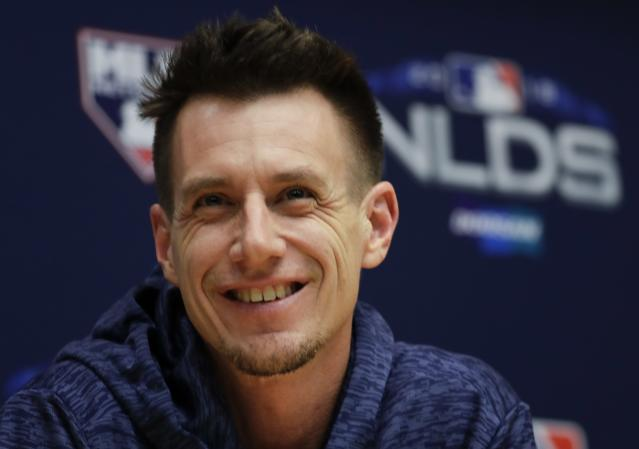 All eyes will be on Brewers manager Craig Counsell and how he manages his bullpen in the NLCS. (AP)