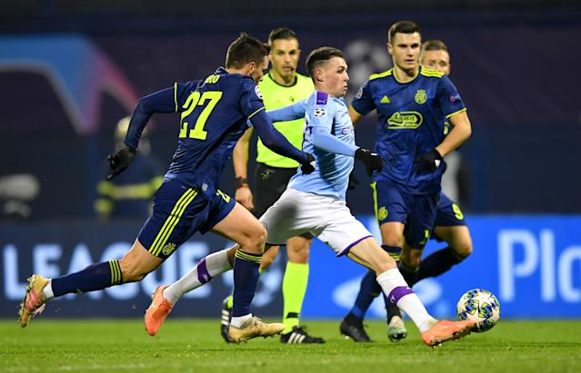 Phil Foden of Manchester City (Credit: Getty Images)