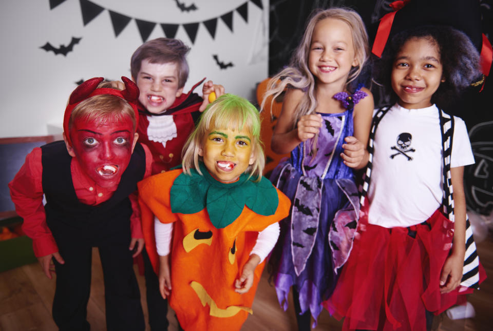Should schools ban children from dressing up for Halloween [Photo: Getty]