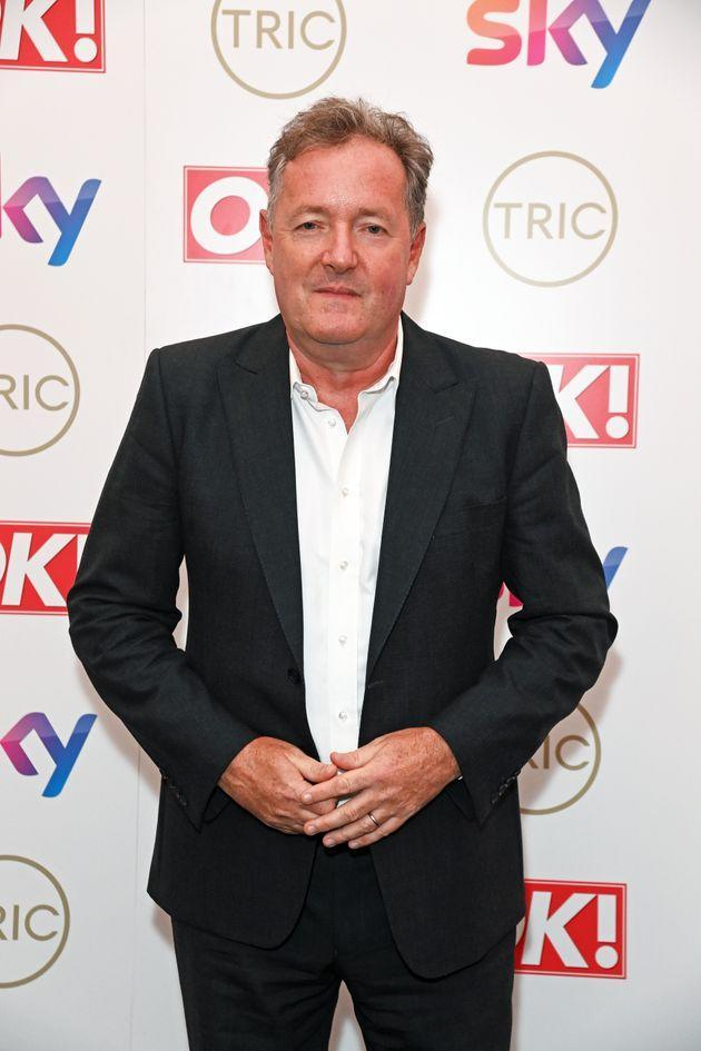 Piers Morgan at the TRIC Awards on 15 September (Photo: David M. Benett via Getty Images)