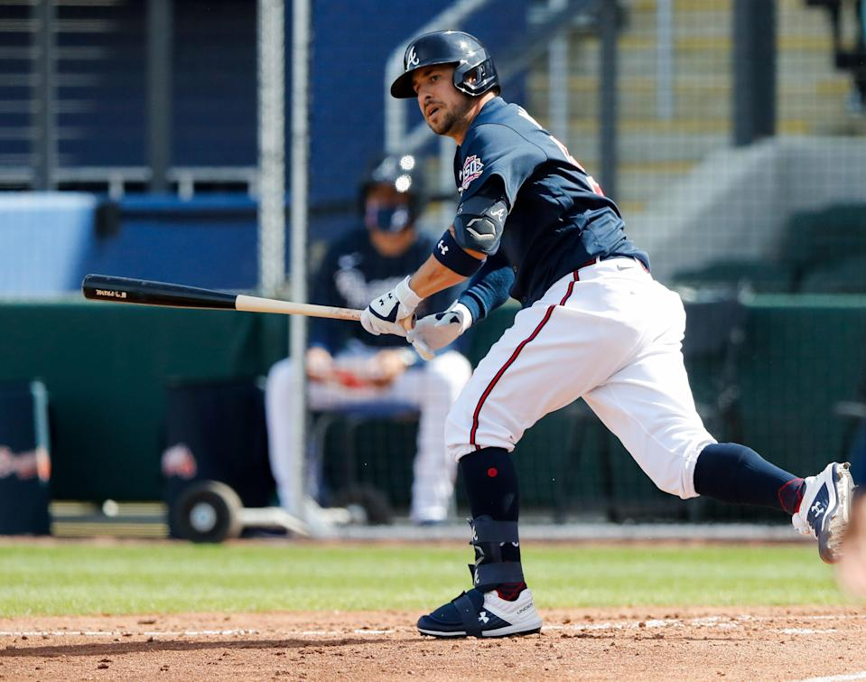 In spring training this year, Sean Kazmar Jr. hit .409 with a .552 OBP and .864 slugging percentage with three home runs and nine RBIs.