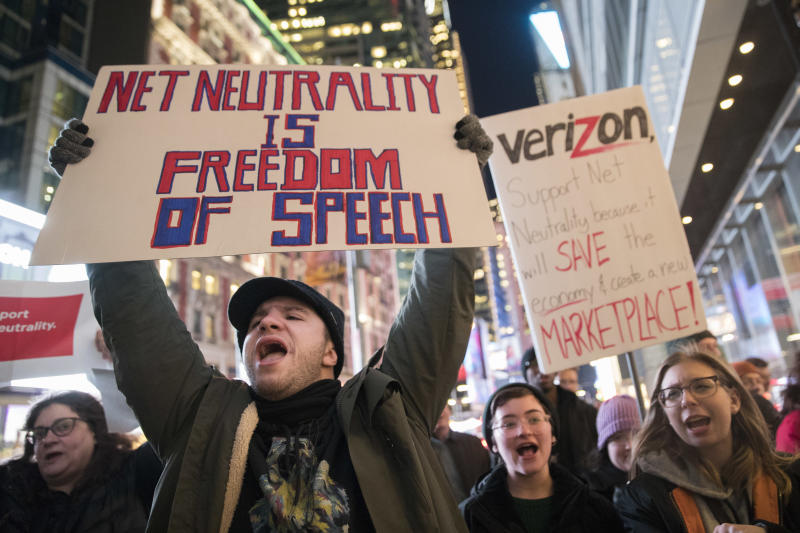 U.S.  officially repeals net neutrality rules