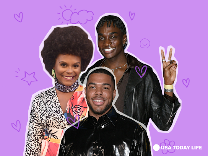 Tabitha Brown, Rickey Thompson and Donté Colley are among the Black creators bringing positivity to social media.