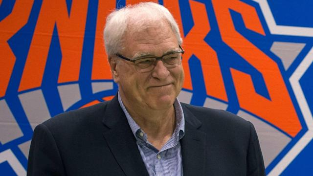 If you've been concerned about how Phil Jackson is doing after being shown the door by Knicks owner James Dolan, you can stop worrying.