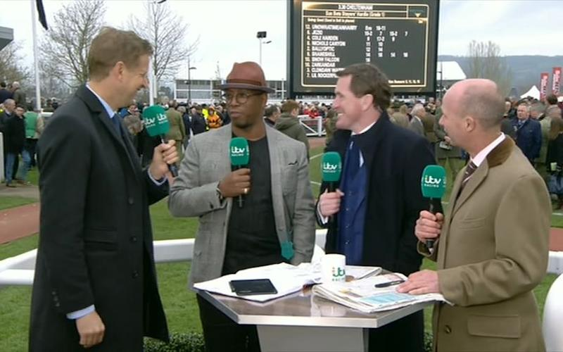 Ian WrightWrightWright - Credit: ITV Racing