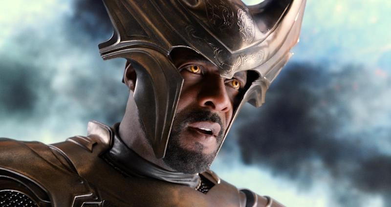 """This publicity photo released by Walt Disney Studios and Marvel shows Idris Elba in a scene from """"Thor: The Dark World."""" (AP Photo/Walt Disney Studios/Marvel"""