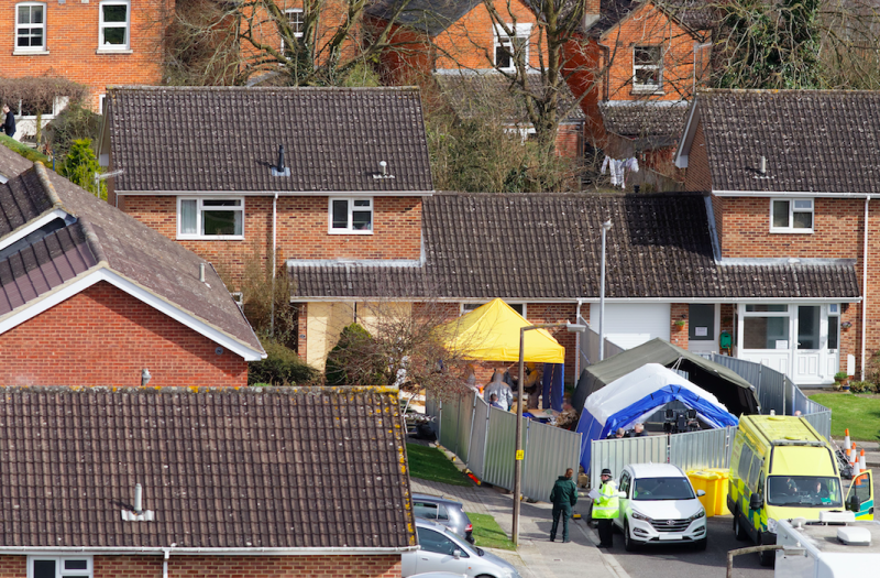 The highest concentration of Novichok was found at Mr Skripal's house in Salisbury More