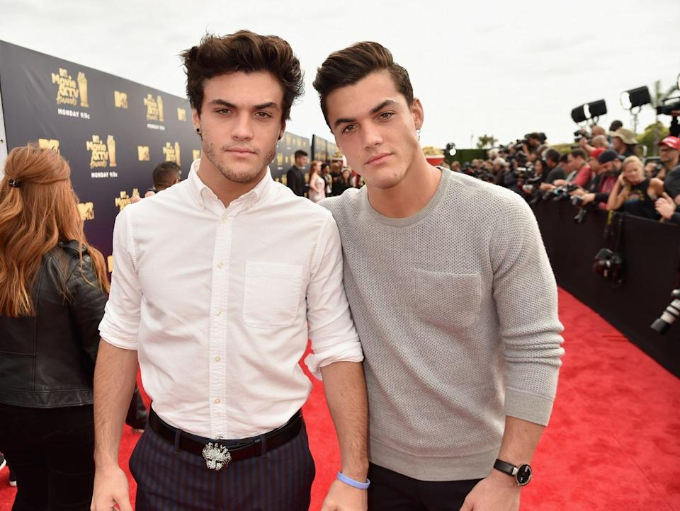 """<p>Grayson originally rose to fame as a comedian through Snapchat. He became an even bigger star when he joined forces with his identical twin brother and they created a Youtube channel called the <a href=""""https://www.youtube.com/channel/UCITqR49EAUY8i1vZtXTwe-A"""" rel=""""nofollow noopener"""" target=""""_blank"""" data-ylk=""""slk:Dolan Twins"""" class=""""link rapid-noclick-resp"""">Dolan Twins</a>. </p>"""