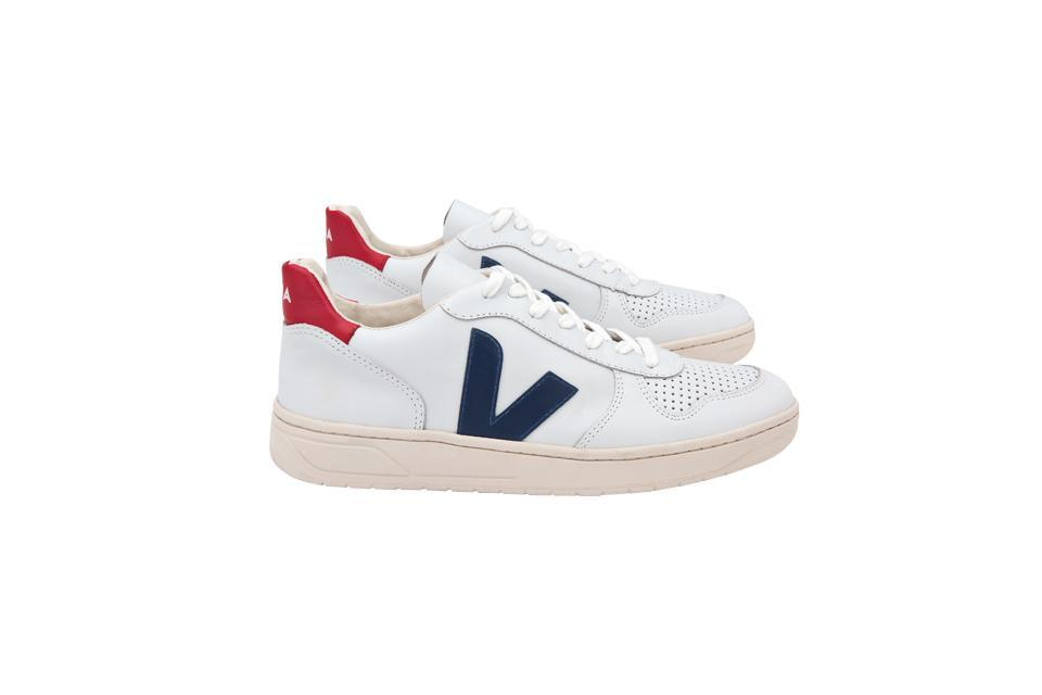 """<p>Who doesn't own a pair of Veja trainers? The sustainable sneaker brand has gone viral with bloggers far and wide 'gramming their feet in countless #OOTD posts. So why not giftwrap a pair for your most fashionable bestie? <em><a href=""""https://www.trouva.com/products/veja-white-nautico-pekin-v-10-leather-trainers-2?currency=gbp&utm_source=googleshoppingUK&utm_medium=cpc&utm_campaign=1468568396&utm_content=56575463923&utm_term=&targeting=pla-549743502691&device=c&gclid=Cj0KCQiA_s7fBRDrARIsAGEvF8RTIxHMEJqN9EEa4V9-dqFoumeII7-kR2ss0Tfb3g3OXtX0YbbRsPoaAv--EALw_wcB"""" rel=""""nofollow noopener"""" target=""""_blank"""" data-ylk=""""slk:Trouva"""" class=""""link rapid-noclick-resp"""">Trouva</a>, £102</em> </p>"""