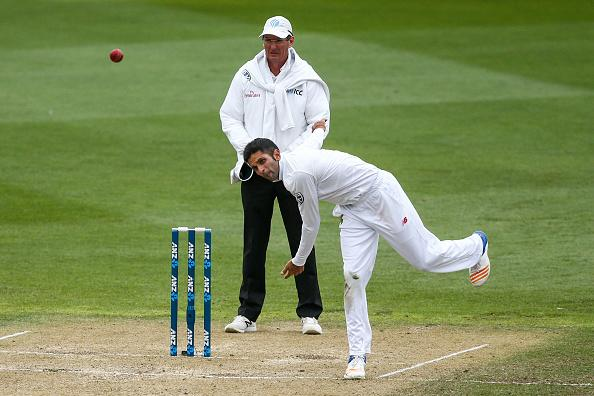 New Zealand v South Africa - 2nd Test: Day 3 : News Photo