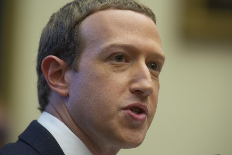 Zuckerberg is now one of just three 'centibillionaires' in the world. (CNP/SIPA USA/PA Images)