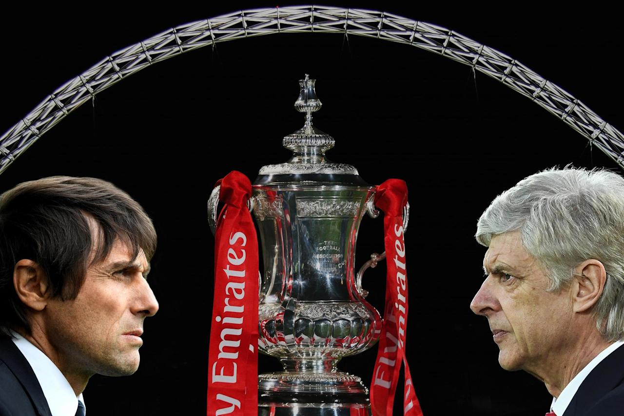 Arsenal vs Chelsea FA Cup Final live: Latest news as Arsene Wenger and Antonio Conte prepare for Wembley