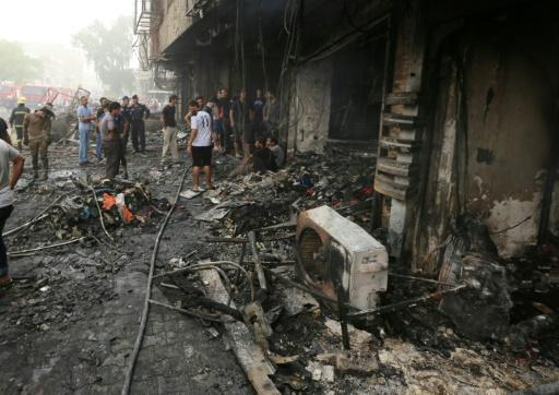 More than 200 dead in IS-claimed Baghdad blast: officials