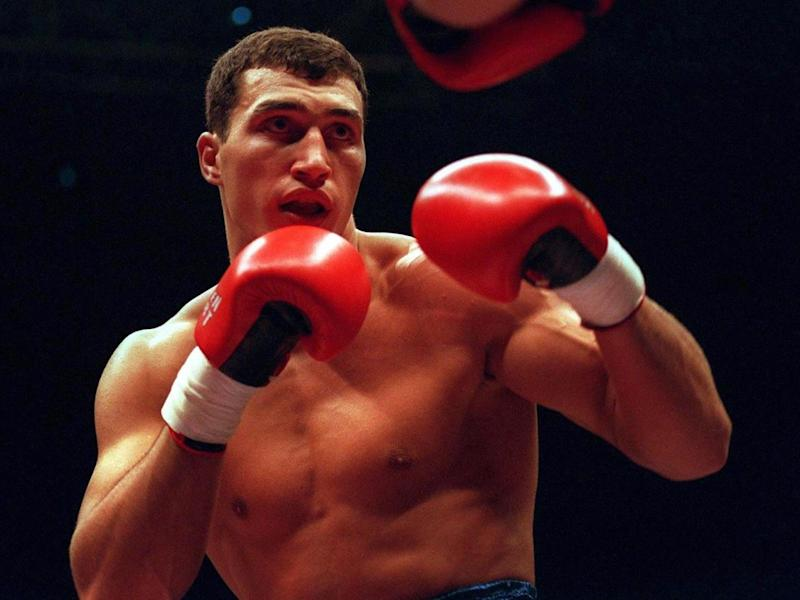 Klitschko made his professional debut in 1996 (Bongarts/Getty)