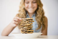 <p>If you eat wholesome, healthy foods–in the right amounts–80 per cent of the time, you can still enjoy more decadent foods 20 per cent of the time. This makes healthy eating less daunting and easier to stick to.</p>