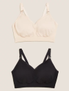 """<p>A quick mention for the foundations of any great maternity wardrobe – the right lingerie. A comfortable maternity and/or <a href=""""https://www.marksandspencer.com/l/lingerie/bras/fs5/nursing"""" rel=""""nofollow noopener"""" target=""""_blank"""" data-ylk=""""slk:nursing bra"""" class=""""link rapid-noclick-resp"""">nursing bra</a> and soft high-rise knickers should be at the top of your shopping list. It's not revolutionary, but M&S promises to deliver on both fronts.</p><p><a class=""""link rapid-noclick-resp"""" href=""""https://go.redirectingat.com?id=127X1599956&url=https%3A%2F%2Fwww.marksandspencer.com%2Fl%2Flingerie%2Fbras%2Ffs5%2Fnursing&sref=https%3A%2F%2Fwww.womenshealthmag.com%2Fuk%2Fhealth%2Fg36261049%2F16-best-maternity-clothes-and-brands-for-trendy-bumps%2F"""" rel=""""nofollow noopener"""" target=""""_blank"""" data-ylk=""""slk:SHOP NOW"""">SHOP NOW</a></p>"""