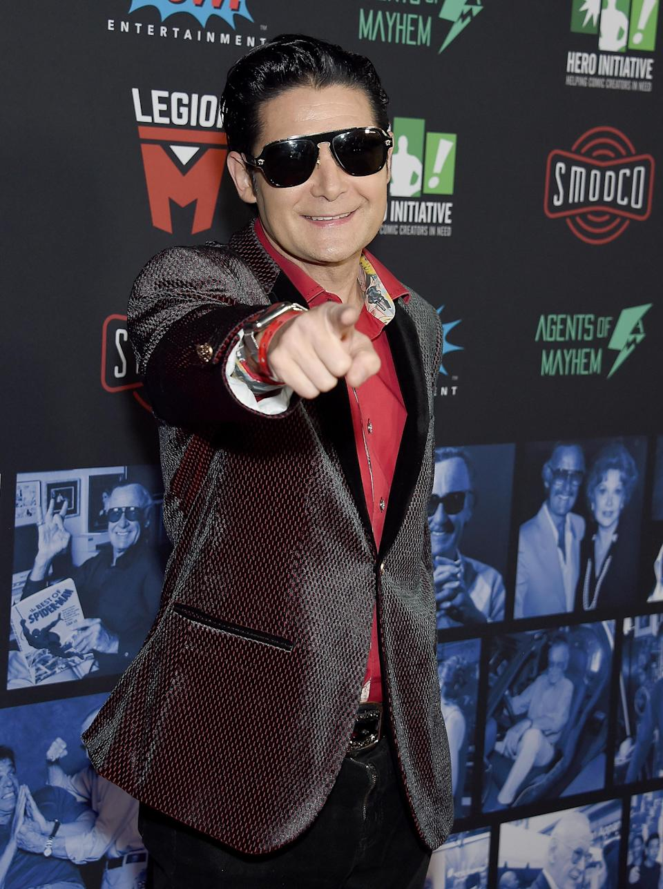 Corey Feldman was the victim of child abuse in Hollywood (Credit: Gregg DeGuire/Getty Images)