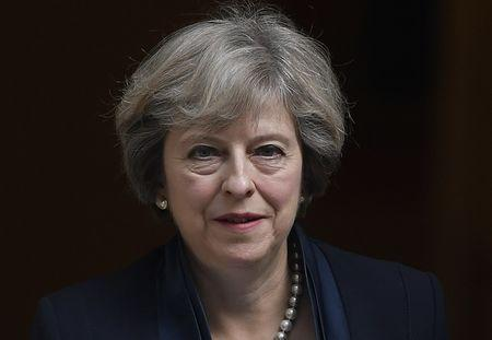 British PM Theresa May dismisses Brexit veto threat