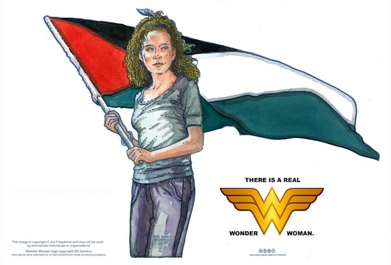 """Ahed Tamimi, """"the real Wonder Woman"""""""