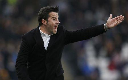 Britain Football Soccer - Hull City v Swansea City - Premier League - The Kingston Communications Stadium - 11/3/17 Hull City manager Marco Silva  Action Images via Reuters / Ed Sykes Livepic