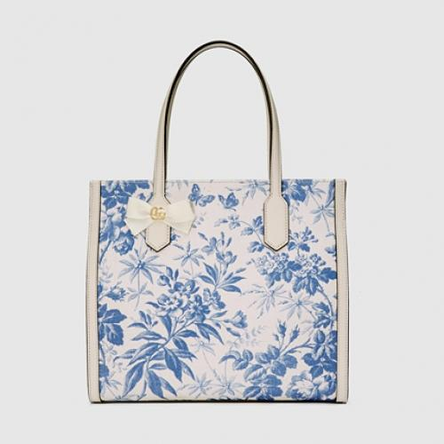 Gucci Herbarium Tote Bag Medium Fl 144 720 Leather 199 800 Size Width 32 Cm X Height 29 Handle 18