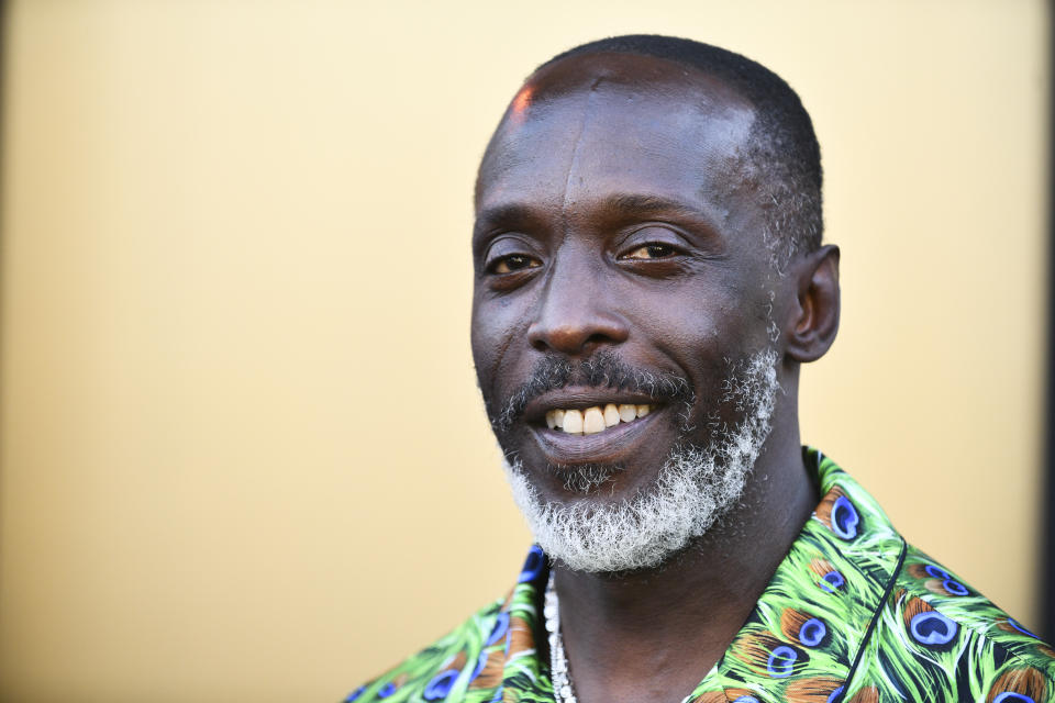LOS ANGELES, CALIFORNIA - AUGUST 08: Michael K. Williams attends the Los Angeles premiere of MGM's