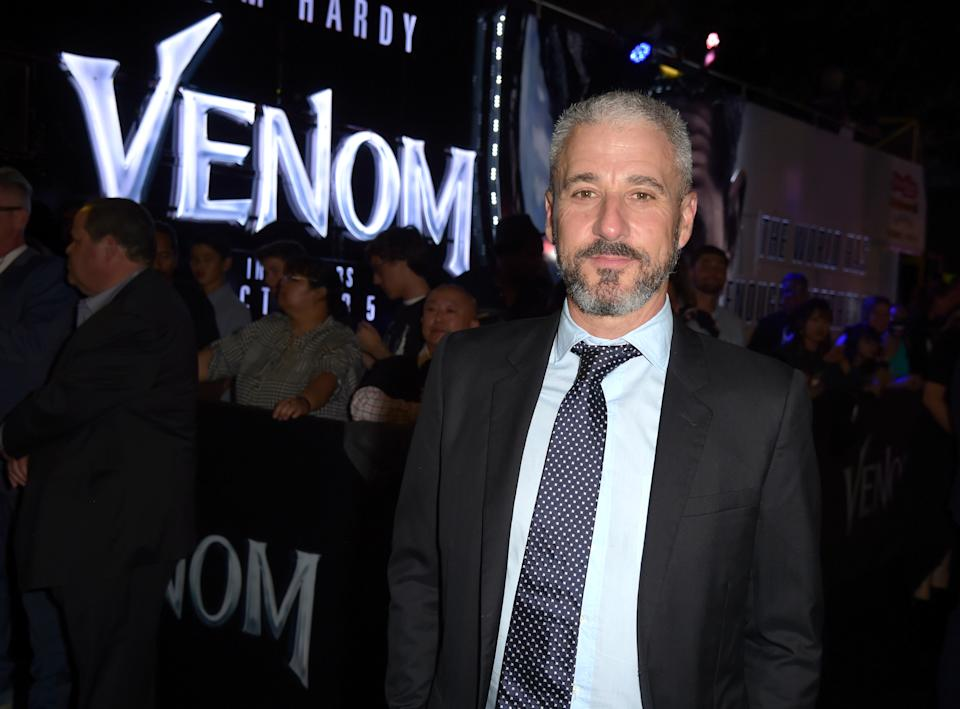 WESTWOOD, CA - OCTOBER 01:  Matt Tolmach attends the premiere of Columbia Pictures' 'Venom' at Regency Village Theatre on October 1, 2018 in Westwood, California.  (Photo by Kevin Winter/Getty Images)