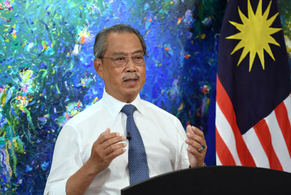 The relief package, dubbed Pemerkasa Plus, will beef up the healthcare system, continue previous welfare programmes and help businesses weather the lockdown, said Prime Minister Tan Sri Muhyiddin Yassin. — Bernama pic